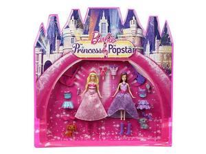 Barbie The Princess & The Popstar Mini-Doll Bag Set #zMC