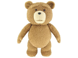World Tech Toys Ted 24-Inch Talking Plush Teddy Bear