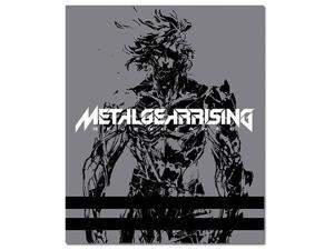 Metal Gear Rising Revengeance Polyester Throw Blanket