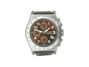 Gucci Pantheon Automatic Chronograph Brown Dial Men's Watch #YA115234