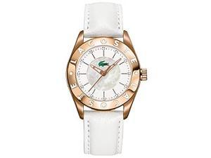 Lacoste Sport Collection Biarritz Rose-gold White Dial Women's watch #2000534