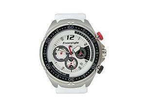 Freestyle Hammerhead Chrono White Strap White Dial Men's Watch #FS81323