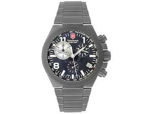 Victorinox Swiss Army Black Titanium Convoy Chrono Titanium Mens Watch 241255