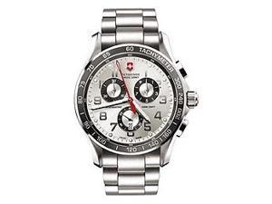 Victorinox Swiss Army Chrono Classic XLS Silver Dial Men's watch #241445