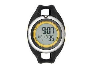 Freestyle Black Polyurethane Strap Digital Grey Dial Men's watch #FS90435