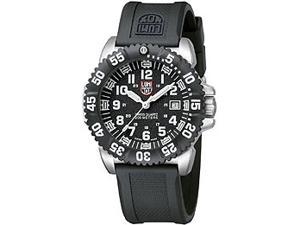 Luminox Navy Seal Mens Quartz Date Stainless Steel