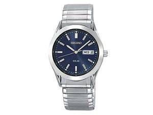 Seiko Expansion Bracelet Blue Dial Men's Watch #SNE057