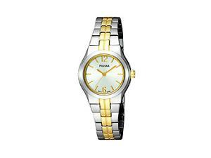 Pulsar Bracelet Collection Two-tone Brushed Silver Dial Women's watch #PTC460