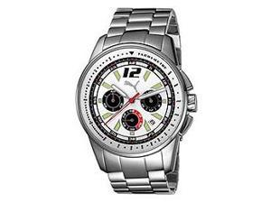 Puma Bracelets Race Chronograph White Dial Men's watch #PU102161002