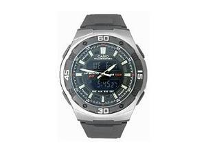 Casio Men's AQ-164W-1AV Analog-Digital World Time Alarm Sport Watch