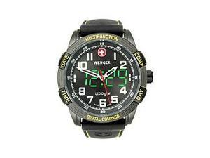 Wenger LED Nomad Digital Compass Black Dial Men's watch #70434