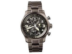 Victorinox Swiss Army Infantry Vintage Gunmetal Chronograph Mens Watch 241460