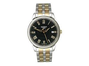 Tissot Classic Dream Two-tone Black Roman Dial Men's Watch #T033.410.22.053.00