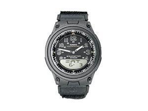 Casio AW80V-1BV Men's World Time Analog & Digital Sports Watch w/ Velcro Strap
