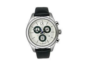 Calvin Klein Chronograph Strive White Dial Women's watch #K0K28126