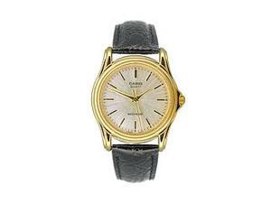Casio Men's Leather Strap watch #MTP-1096Q-7A