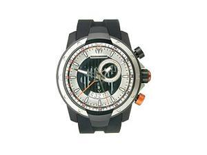 Technomarine UF6 Black and Orange Dial GMT Mens Watch 610005
