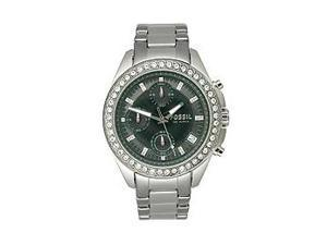 Fossil Decker Ladies Chrono Quartz Stainless Steel