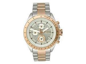 Fossil Decker Chronograph Silver Dial Men's watch #CH2686