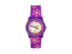 Timex Kids' Pink Flower Strap watch #T89022