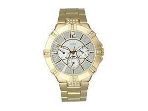 Guess Waterpro/Wristwear Gold-tone Crystal Dial Women's Watch #U13576L1