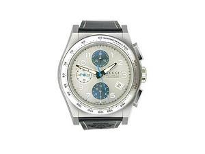 Gucci Pantheon Automatic Chronograph Silver Dial Men's Watch #YA115233