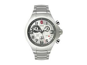 Victorinox Swiss Army Silver Base Camp Mens Watch 241331