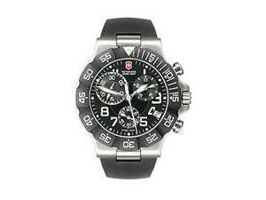Victorinox Swiss Army Black Summit XLT Mens Watch 241336