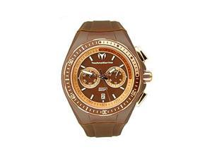 TechnoMarine Cruise Sport Chocolate Chrono Brown Dial Unisex watch #110063