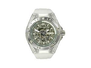 TechnoMarine Cruise Sport Snow Diamonds Mirror Dial Unisex watch #110065