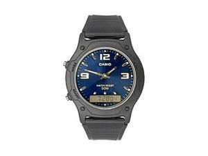 Casio AW49HE-2AV Casual Classic Men's Analog & Digital Dual Time Watch - Blue