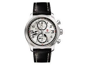 Victorinox Swiss Army Infantry Vintage Chrono Silver Dial Men's watch #241449