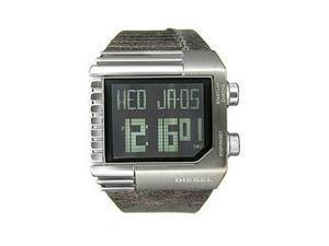 Diesel Digital Black Dial Men's Watch #DZ7180