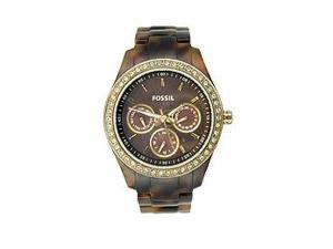 Fossil Stella Multifunction Brown Dial Women's Watch #ES2795