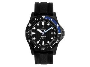 Bulova Marine Star Black Dial Men's Watch #96B159