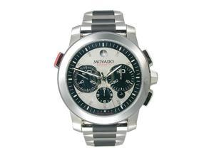 Movado Vizio Sport Chronograph Silver Dial Men's watch #606324