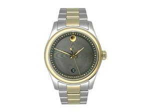 Movado Sportivo Two-tone Bracelet Black Dial Men's watch #606483