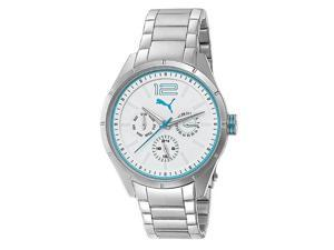 Puma Stainless Steel Multifunction White Dial Women's watch #PU102622004