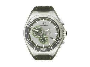 Technomarine Steel Evolution Chronograph Grey Dial Steel Mens Watch 112008