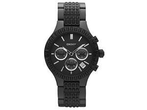 DKNY Glitz Black Dial Women's Watch #NY8316
