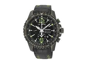 Seiko Sportura Black Dial Men's Watch #SNAE97