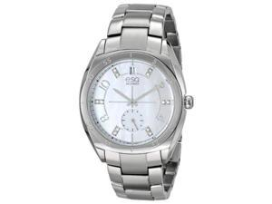 ESQ Movado Origin Silver-Tone Stainless Steel Womens watch #07101460