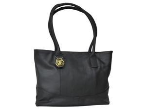 Casual Leather Handbag (#1827-0)