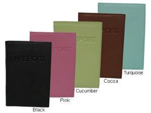 Luxurious Leather Passport Holder (#310-01278)