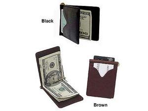 Leather Money Clip (#98308-02)