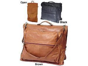 Leather Three-suit Garment Bag (#2435-02)