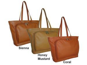 Amerileather Cosmopolitan Leather Tote (#1825-369)