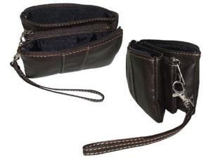 Amerileather Mini Zip Wristlet (#526-4589)