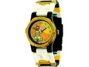Lego Mini Classic Star Wars Yellow Dial Youth Watch #9002960