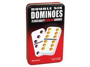 Dominoes: Double 6 Color Dot